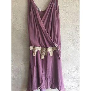 Anthropologie Dresses - Anthropologie Lace Vintage Slip Dress